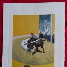 Arte: FRANCIS BACON, CON SELLO DE AUTENTIFICACIÓN EN RELIEVE-(INTERES PICASSO, CHILLIDA, DALI, WARHOL,..). Lote 284737803
