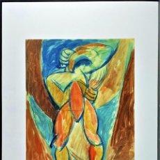 Art: PABLO PICASSO * 50 X 70 CM * LITOGRAFIA FIRMADA * LIMITADA # 29/200 - 50 X 70.CM. Lote 284779823