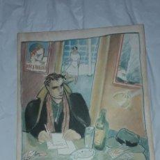 Art: BELLA LITOGRAFÍA DE JAVIER DE JUAN AMBIGÜEDAD CRONOLÓGICA SIN QUERER 1984. Lote 285343568