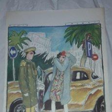 Art: BELLA LITOGRAFÍA DE JAVIER DE JUAN NIMIO ENCANTO 1984. Lote 285344268