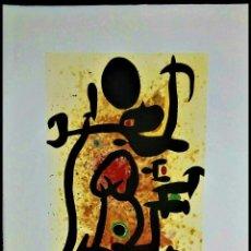 Art: JOAN MIRO * 78 X 57 CM * LITOGRAFIA FIRMADA * LIMITADA # 61/150. Lote 286182248