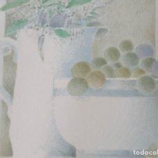 Arte: LITOGRAFÍA FIRMADA TODÓ, NUMERADA 108 DE 125, 42X36 CM.. Lote 286448923