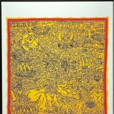 Arte: KEITH HARING .SIN TÍTULO - LITOGRAFIA COLOR, EDT LIMIT Nº 10 DE 150 COPIAS.TAMAÑO 70 X 50 CM. Lote 286749653