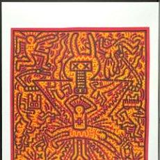 Arte: KEITH HARING .UNTITLED - LITOGRAFIA COLOR, EDICIÒN LIMIT Nº 141 DE 150 COPIAS.TAMAÑO 70 X 50 CM. Lote 286753413