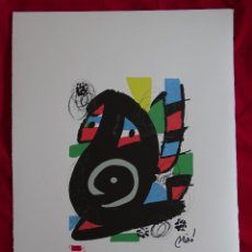 Art: JOAN MIRO MELODIA ACIDA (INTERES PICASSO, CHILLIDA, DALI, WARHOL, TAPIES, PLENSA,..ETC). Lote 286825083