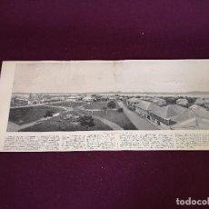 Art: S. XIX, ANTIGUA LITOGRAFÍA CON FOTOGRAFÍA PANORÁMICA, ILO - ILO, 62 X 26 CMS.. Lote 287128393