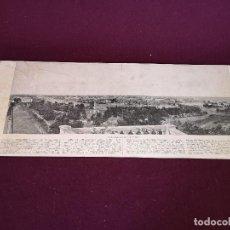Art: S. XIX, ANTIGUA LITOGRAFÍA CON FOTOGRAFÍA PANORÁMICA, MANILA, 62 X 26 CMS.. Lote 287128583