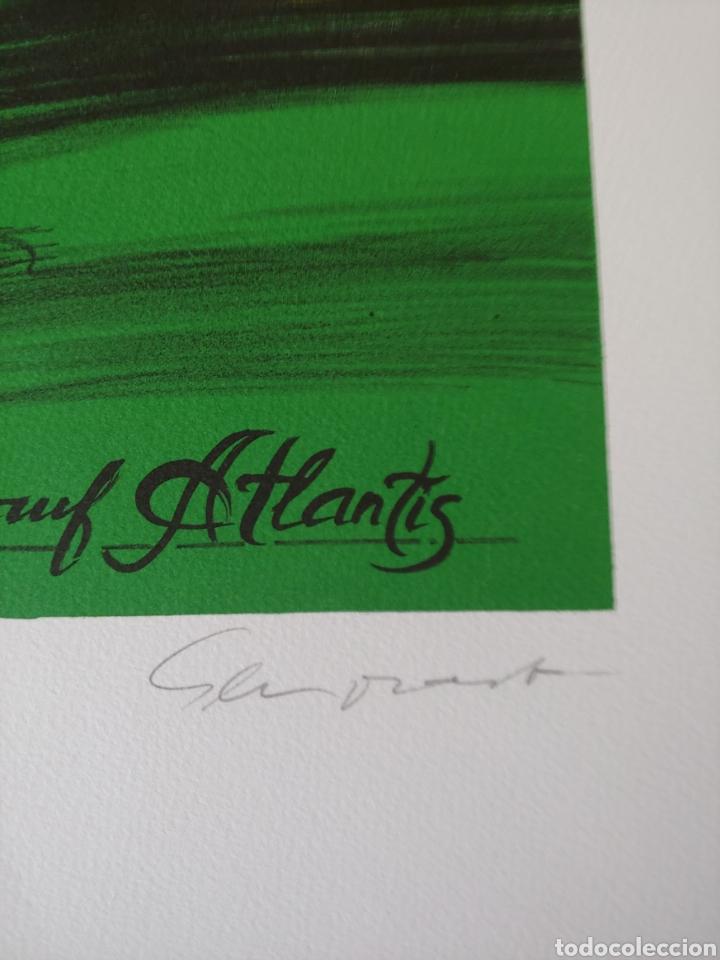 Arte: Jaume Genovart. Litografía firmada, prueba de artista. - Foto 2 - 287679178