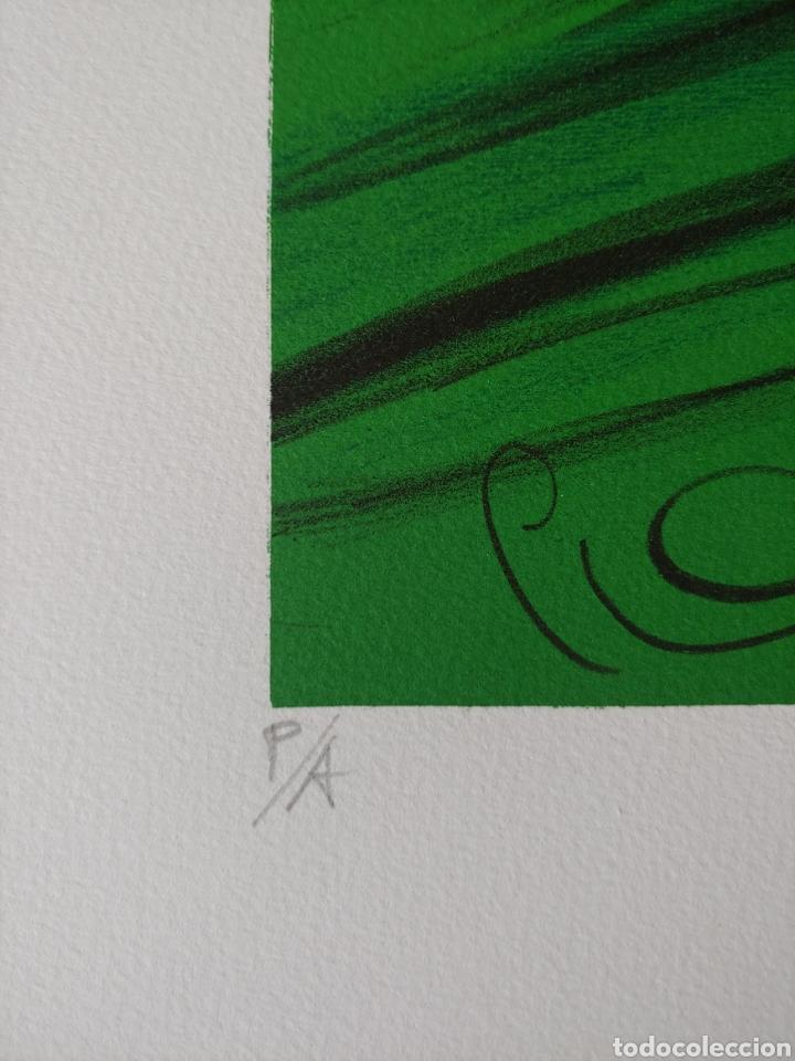 Arte: Jaume Genovart. Litografía firmada, prueba de artista. - Foto 3 - 287679178