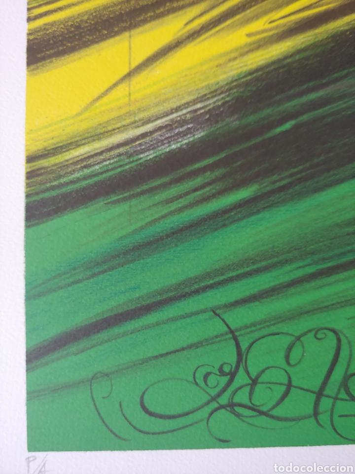 Arte: Jaume Genovart. Litografía firmada, prueba de artista. - Foto 4 - 287679178