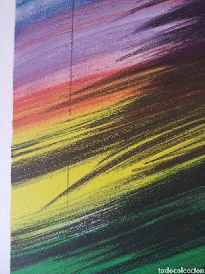 Arte: Jaume Genovart. Litografía firmada, prueba de artista. - Foto 5 - 287679178