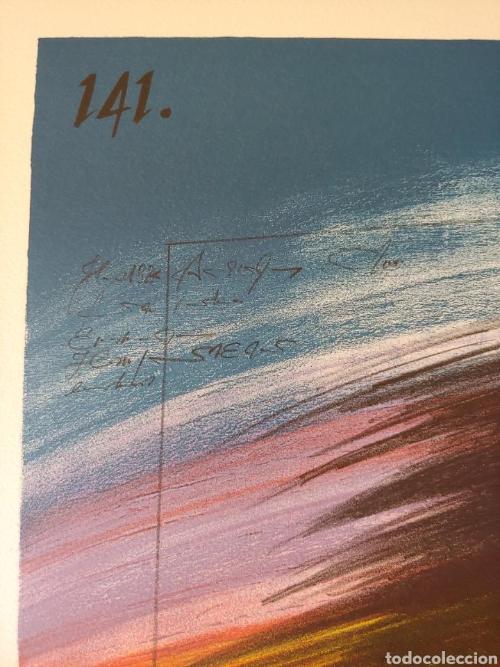 Arte: Jaume Genovart. Litografía firmada, prueba de artista. - Foto 6 - 287679178