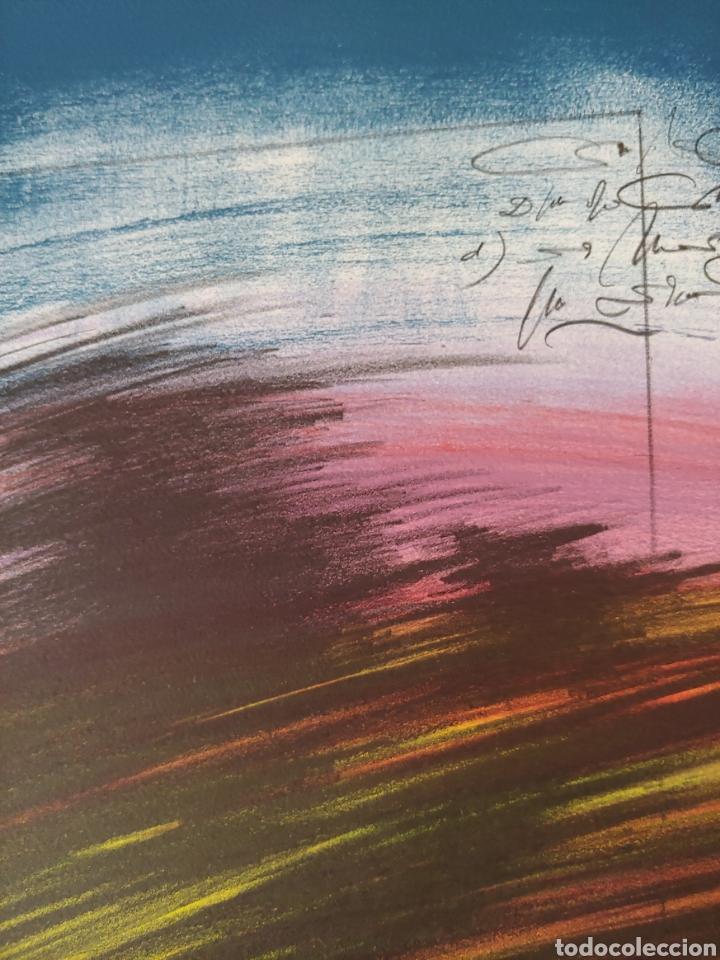 Arte: Jaume Genovart. Litografía firmada, prueba de artista. - Foto 7 - 287679178