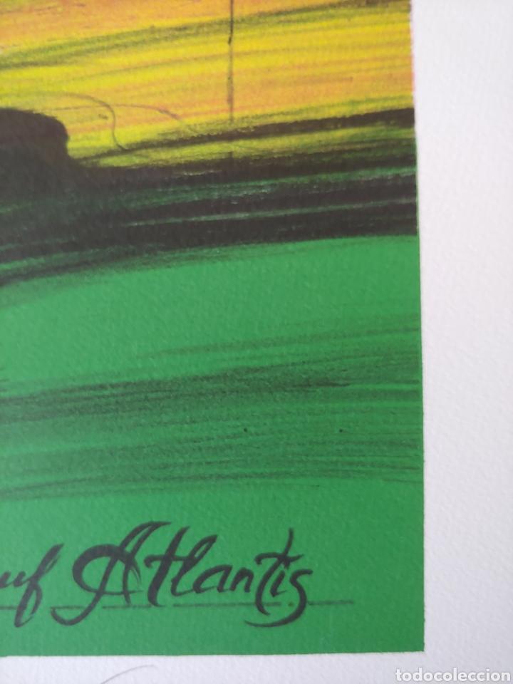 Arte: Jaume Genovart. Litografía firmada, prueba de artista. - Foto 10 - 287679178