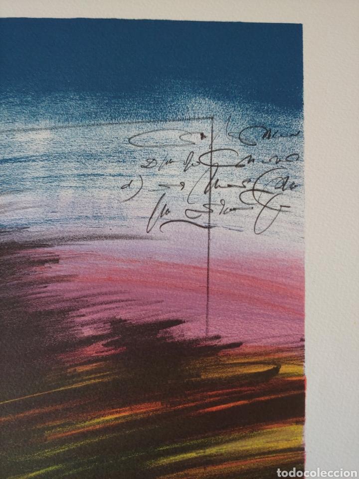 Arte: Jaume Genovart. Litografía firmada, prueba de artista. - Foto 12 - 287679178