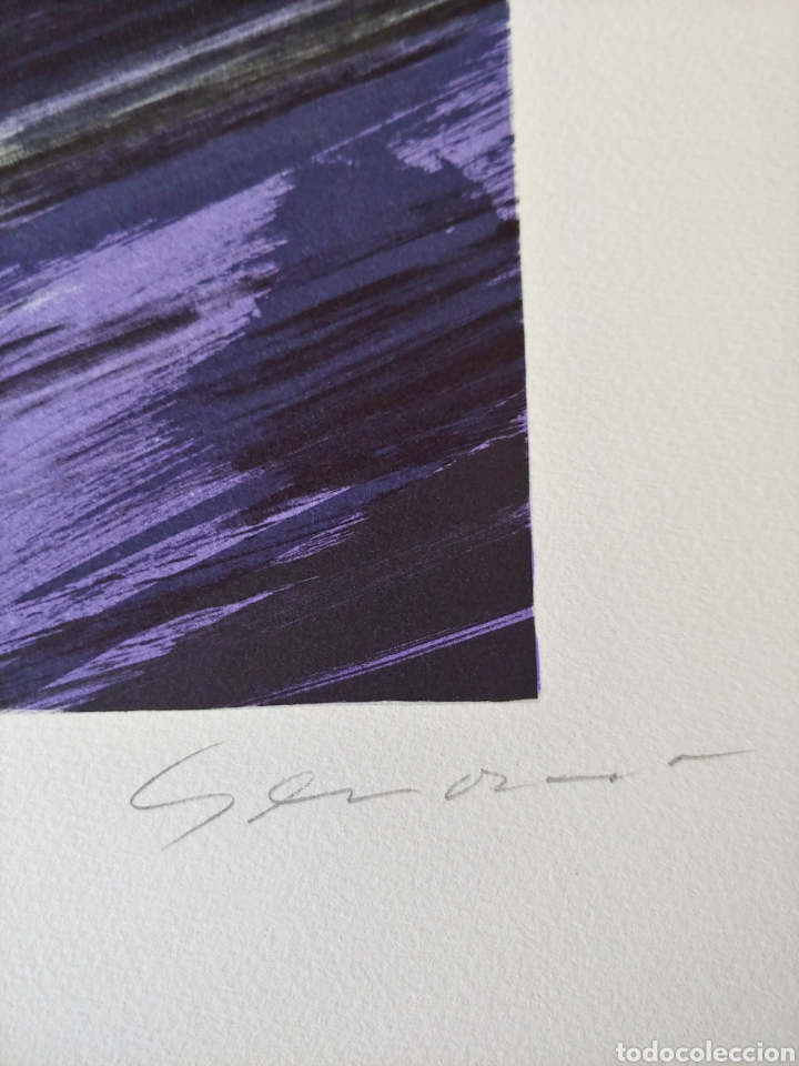 Arte: Jaume Genovart. Litografía firmada y numerada. - Foto 2 - 287679853
