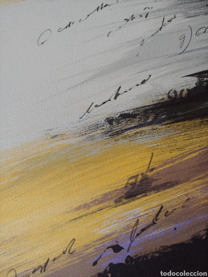Arte: Jaume Genovart. Litografía firmada y numerada. - Foto 12 - 287679853
