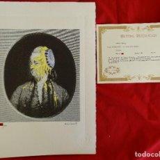 Art: BANKSY, EDICIÓN LIMITADA CERTIFICADO (PICASSO BANKSY MIRÓ WARHOL HARING). Lote 287706453