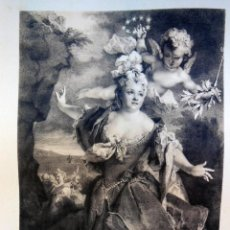 Arte: MARIE ANNE DE CHATEAUNEUF DITE MLLE DUCLOS. Lote 287757658