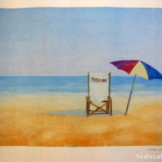 Arte: PITIRYAX. AUTOR : FONT RIBAS. NUMERADA 34/2500. Lote 287763438