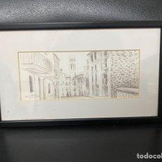 Arte: LITOGRAFÍA ENMARCADA. Lote 287888218