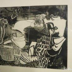 Arte: LITOGRAFÍA DE JORGE VIDAL. Lote 287995713