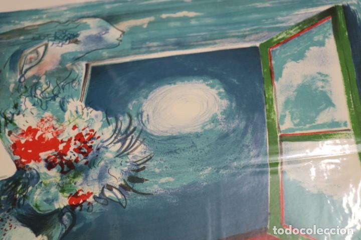 "Arte: LITOGRAFÍA DE ROLAIN ""PENSAMIENTO DE MUJER"" - Foto 6 - 288002958"