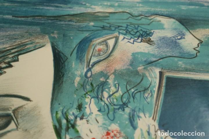 "Arte: LITOGRAFÍA DE ROLAIN ""PENSAMIENTO DE MUJER"" - Foto 7 - 288002958"