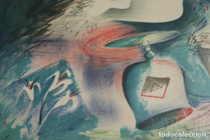 "Arte: LITOGRAFÍA DE ROLAIN ""PENSAMIENTO DE MUJER"" - Foto 8 - 288002958"