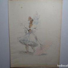 Arte: LITOGRAFÍA DE PAU ROIG CISA (PREMIA DE MAR 1879-1955). ÉPOCA DE COLABORACIÓN CON TOULOUSE-LAUTREC. Lote 288106373
