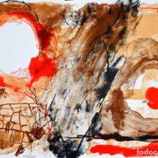 Arte: JOSEP GUINOVART LITOGRAFIA FIRMADA Y NUMERADA. POLIGRAFA 2000. Lote 288380008