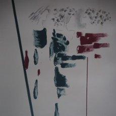 Arte: MILÓS GRAS MIQUEL. LITOGRAFÍA FIRMADA Y NUMERADA A LÁPIZ.. Lote 289500923