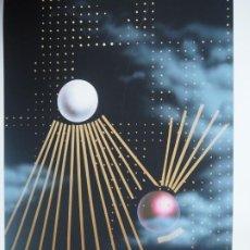 Arte: JOSEP MARIA SUBIRACHS. LITOGRAFÍA IMPRESA. EDICIÓN EXCLUSIVA TEACHER'S GROUP, MANPOWER.. Lote 289504433