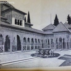 Arte: GRANADA LITOGRAFIA GARCIA SANCHEZ 1939 32 X 46 CMTS. Lote 289627463