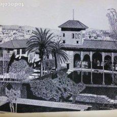 Arte: GRANADA LITOGRAFIA GARCIA SANCHEZ 1939 32 X 46 CMTS. Lote 289627473