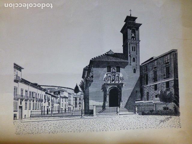 GRANADA LITOGRAFIA GARCIA SANCHEZ 1939 32 X 46 CMTS (Arte - Litografías)