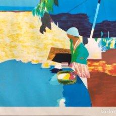 Arte: ROBERTO ORTUÑO - LITOGRAFÍA -. Lote 290529438