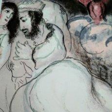Arte: LITOGRAFÍA MARC CHAGALL ESPADEM PARIS 120/300. Lote 294488728