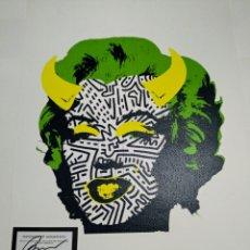 Arte: LITOGRAFÍA RAW PRUEBA DE ARTISTA FIRMADO Y NUMERADO A LÁPIZ 45X32CM. Lote 295735078