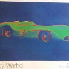 Arte: ANDY WARHOL: CARS, MERCEDES BENZ FORMEL.. Lote 296856638