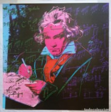 Arte: ANDY WARHOL: BEETHOVEN, 98 X 97 CM.. Lote 296860038