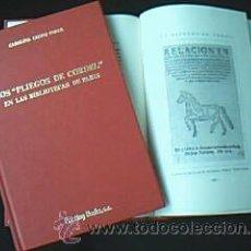 Arte: LOS PLIEGOS DE CORDEL EN LAS BIBLIOTECAS DE PARÍS. LECOQ PÉREZ, CAROLINA, 1998. Lote 166650532