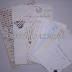 Arte: DOCUMENTOS DE JUAN NEPOMUCENO MUÑOZ DE SALAZAR MALDONADO, DE GRANADA RELATIVOS A CENSOS. Lote 40890808