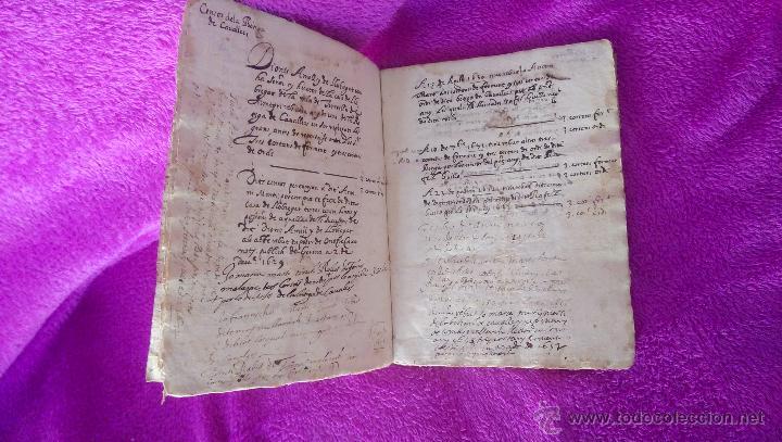 Arte: MANUSCRITS, CENSOS DE TORROELLA DE MONGRI, 1620-30-40 - Foto 3 - 44999118