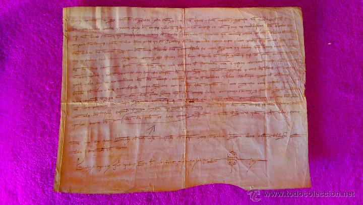 Arte: MANUSCRIT 1288, R. DE PEGUERA, COMPTE DE PALLARS SUBIRA, PRINCESA BIZANTINA, RAMON ROGER, JAUME I CQ - Foto 2 - 46167849