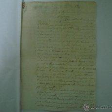 Art: MANUSCRITO DE 2 HOJAS DE 1824. FOLIO. STA. COLOMA DE FARNÉS. GIRONA.. Lote 47047718