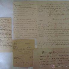 Arte: CONJUNTO DE RECETAS MANUSCRITAS DE APROXIMADAMENTE 1840 CONTRA ENFERMEDADES. Lote 49182223
