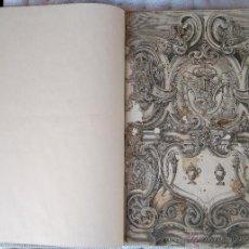 Arte: REAL CEDULA REY BORBON FELIPE V, AÑO 1733,ORDENANZAS ORO,PLATA,MONEDA,JOYAS,ESCUDOS 8,4,2,1,CATALUÑA. Lote 40817458