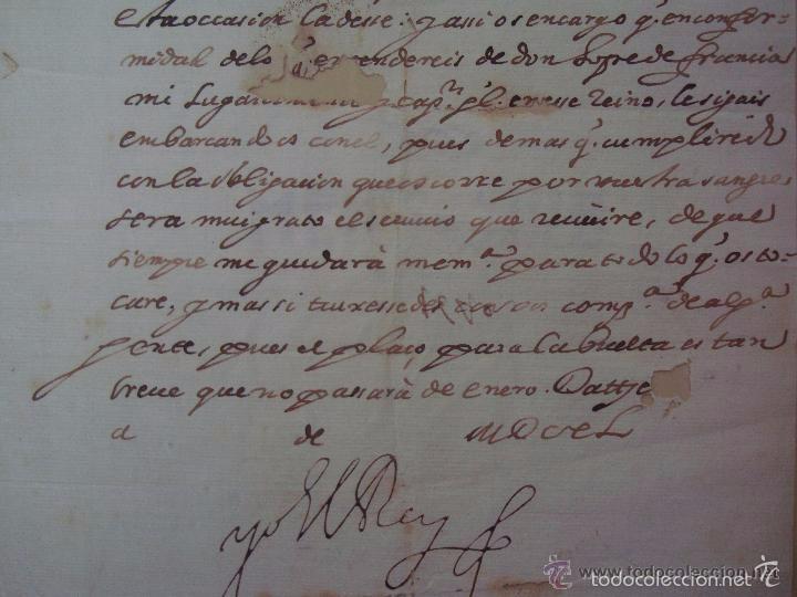 Arte: MANUSCRITO HISTORICO DE LA SUBLEVACIÓN DE LOS CATALANES EN 1640.FIRMADO FELIPE IV - Foto 5 - 55341848