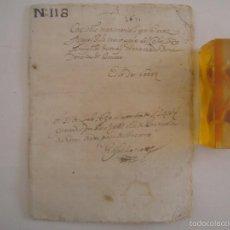 Arte: MANUSCRITO DE 1671 CAPITOLS MATRIMONIALS. GIRONA. CASTELL DE BRUNYOLA. 24 PÁGINAS. Lote 57049128